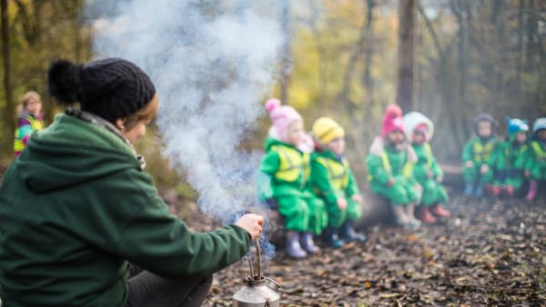 Forest Schools for Nurseries