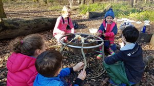Our Forest School Home Ed sessions are back!